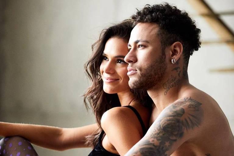 Neymar e Bruna Marquezine, quando ainda estavam juntos