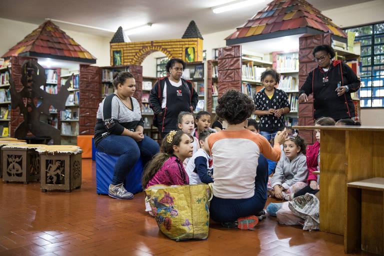 Bibliotecas irmãs no Tatuapé
