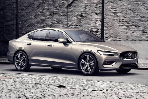Novo geração do Volvo S60 chega ao Brasil em 2019