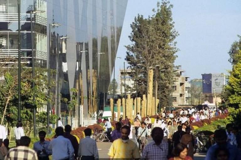 A Cidade Eletrônica, em Bengaluru, pode se tornar o maior hub de TI do planeta até 2020