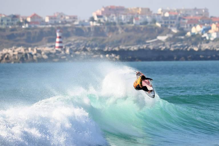 Etapa de Portugal do Mundial de Surfe