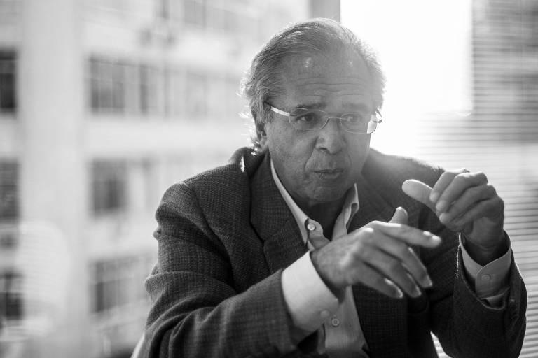 O economista Paulo Guedes, ministro da Fazenda confirmado no governo Jair Bolsonaro
