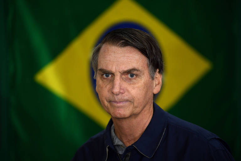 O candidato do PSL Jair Bolsonaro