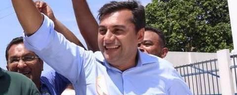 O candidato ao governo do AM Wilson Lima (PSC)  Foto: Divulgação