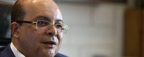 BRASILIA, DF,  BRASIL,  18-10-2018, 12h00: O candidato Ao governo do DF Ibaneis Rocha (MDB)  durante entrevista à Folha, em sua casa. (Foto: Pedro Ladeira/Folhapress, PODER) ***EXCLUSIVO*** ***ESPECIAL***