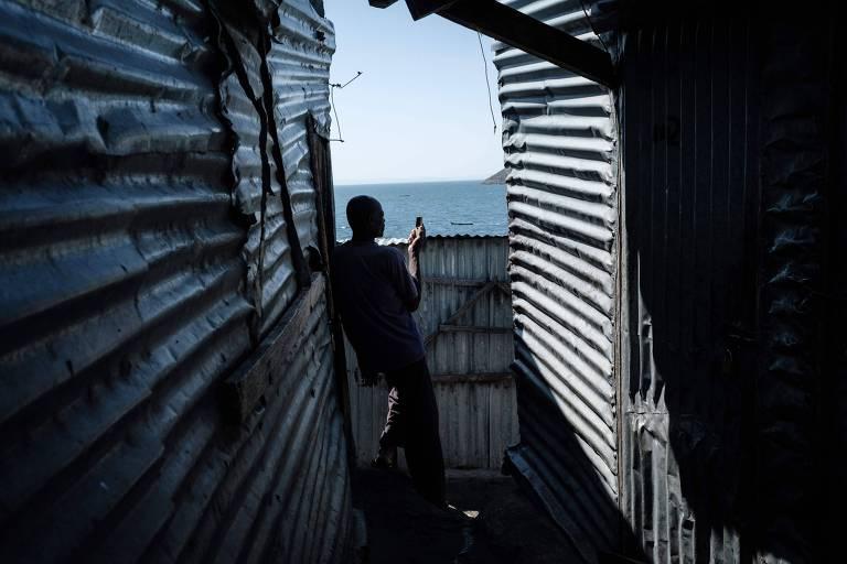 Ilha de pescadores é alvo de disputa entre Quênia e Uganda