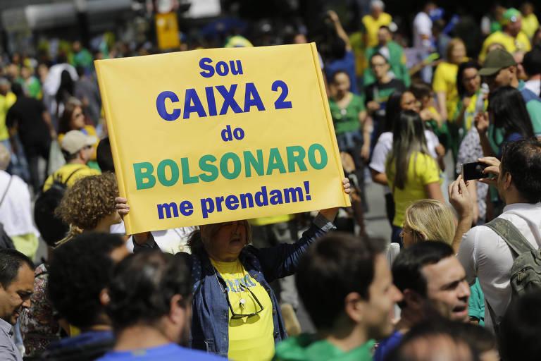 Protesto contra o PT e em favor do presidenciável do PSL, Jair Bolsonaro, ocupa a avenida Paulista, em São Paulo