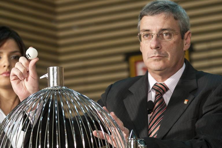 Coronel Marcos Marinho, chefe de arbitragem da CBF (Confederação Brasileira de Futebol)