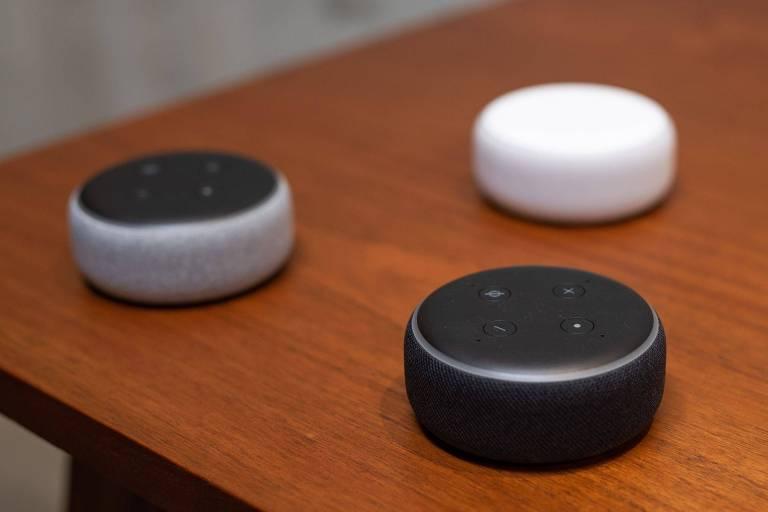 O dispositivo Echo Dot, da Amazon