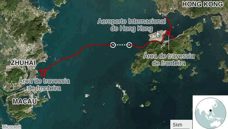 15402961575bcf0ddd349f9_1540296157_16x9_md Os números que revelam a grandiosidade da maior ponte marítima do mundo, inaugurada na China