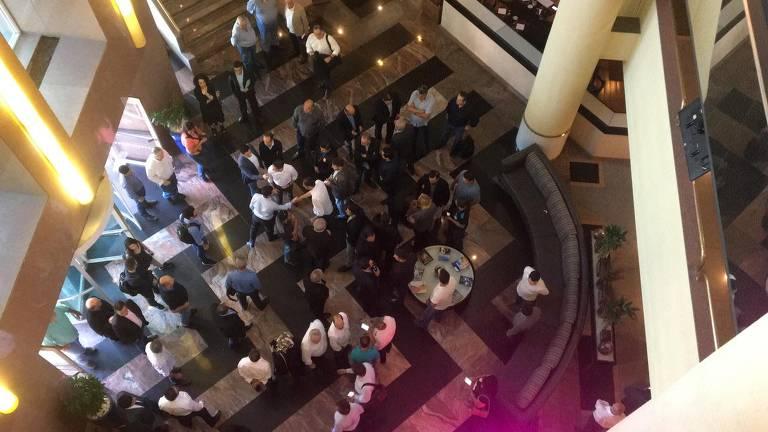 Márcio França realiza evento com prefeitos em São Paulo