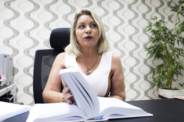 """A ex-juíza estadual Selma Arruda (PSL), """"a Sergio Moro de Mato Grosso"""", que foi eleita senadora"""