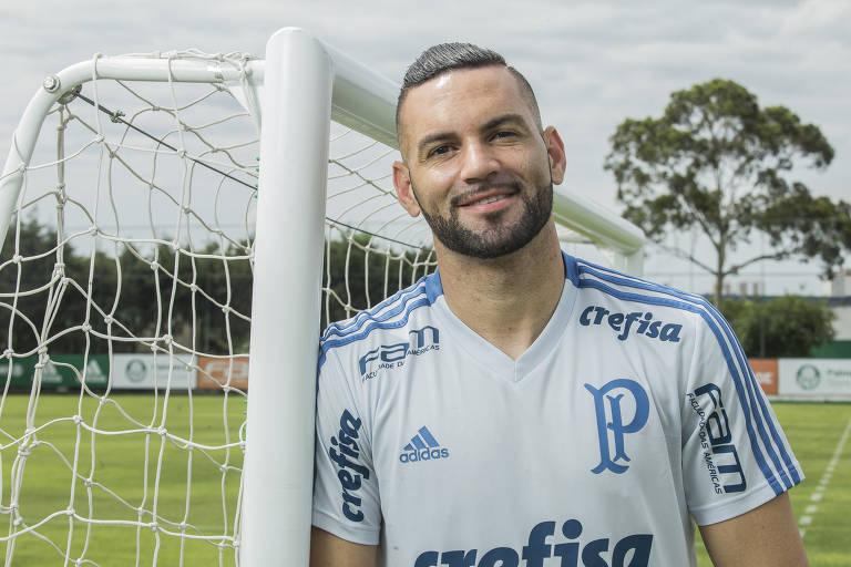 Weverton, goleiro do Palmeiras