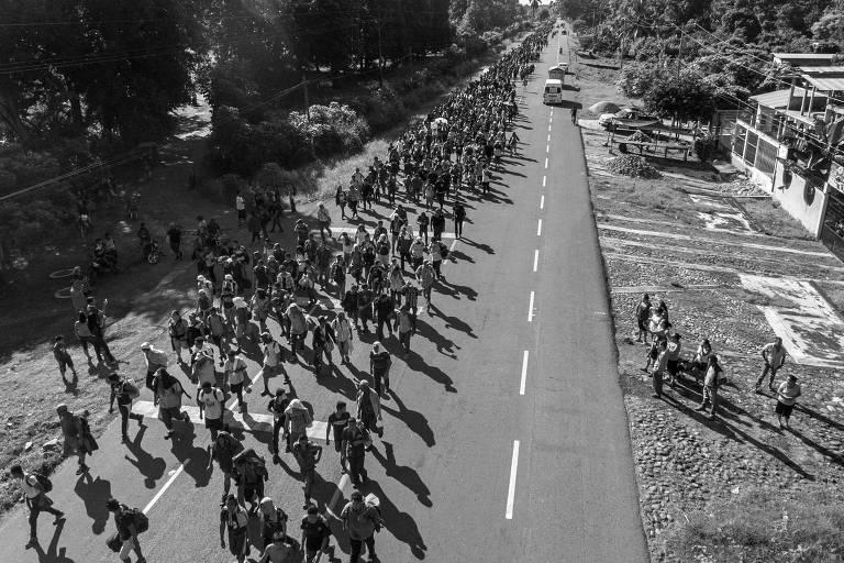 Marcha migrante