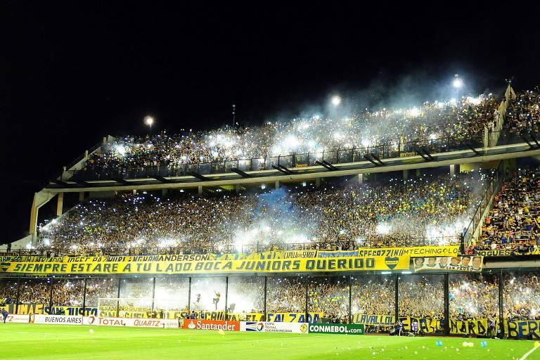 La Bombonera foi inaugurada em 1940 e torcedores mais tradicionalistas não querem estádio novo