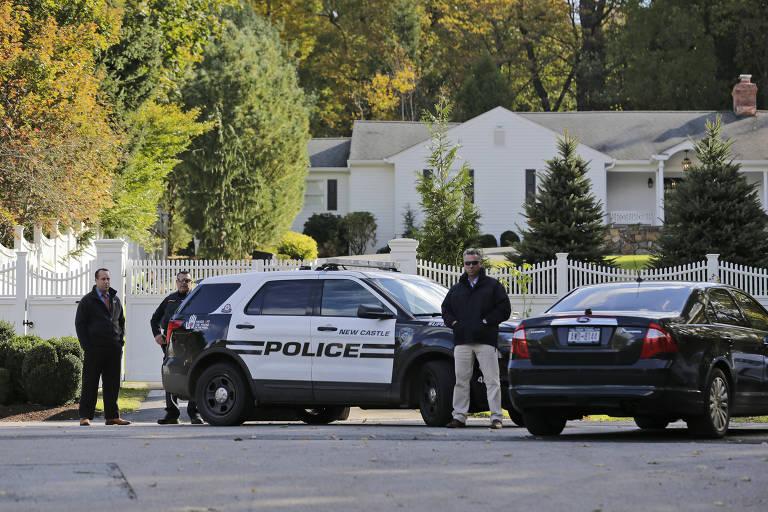 Pacotes suspeitos nos EUA