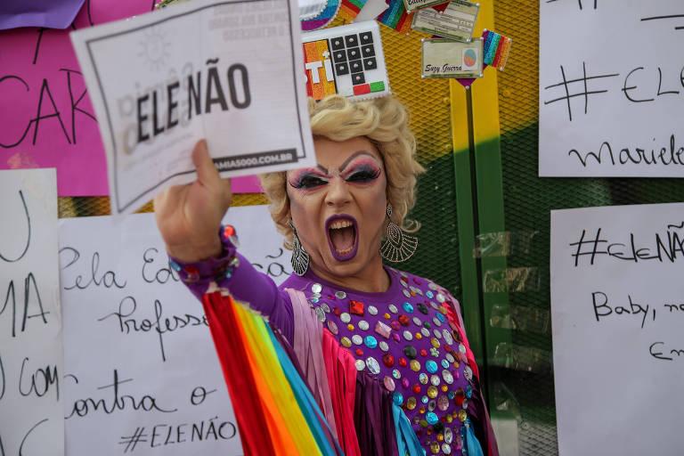 LGBTs se manifestam sobre Bolsonaro