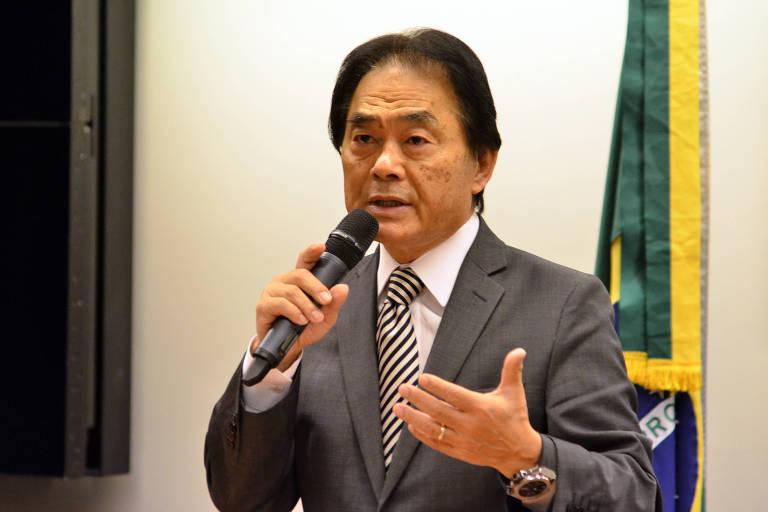 Culto evangélico com novo presidente da frente parlamentar evangélica,pastor Takayama