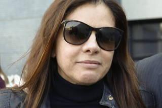 Mônica Moura deixa PF em Curitiba