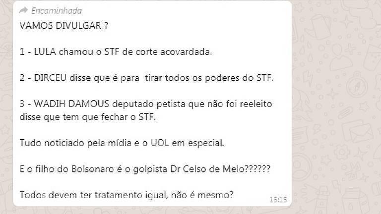 Internautas fazem memes sobre fala de Eduardo Bolsonaro