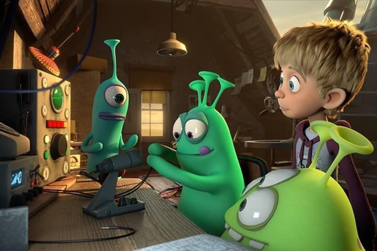 'Amigos Alienígenas'