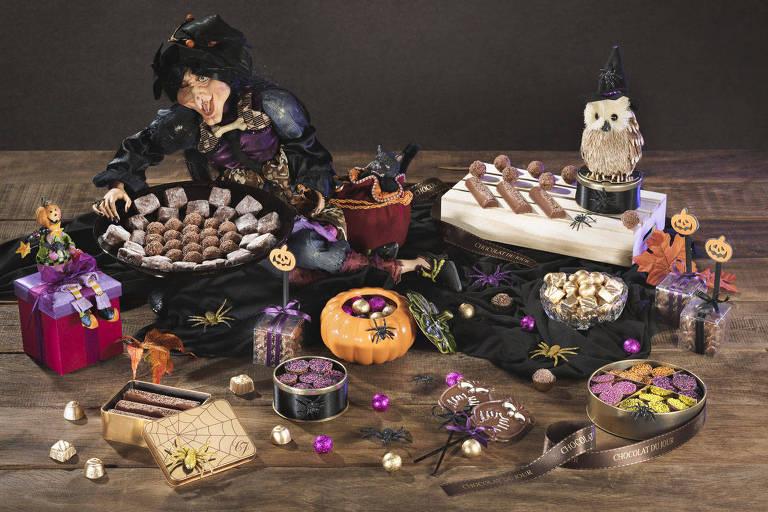 Coleção de doces inspirados no Halloween da Chocolat Du Jour