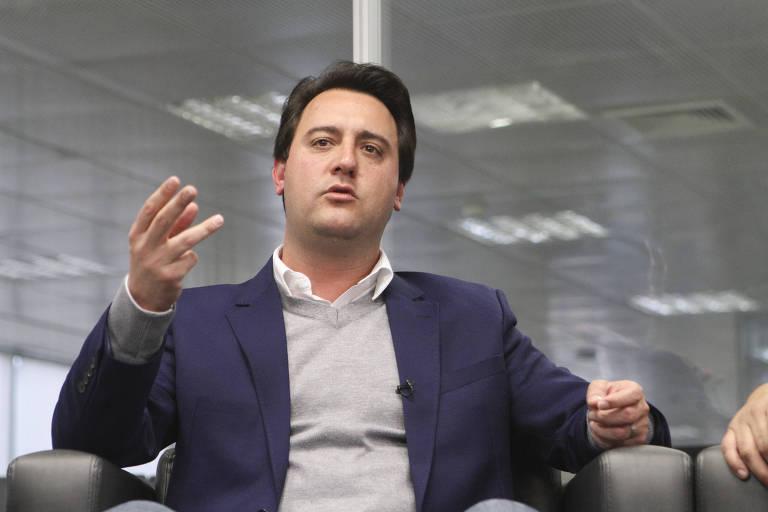 Ratinho Junior (PSD), governador eleito do Paraná