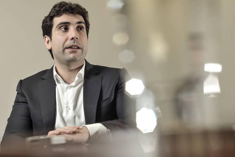 Retrato do executivo gabriel galipolo