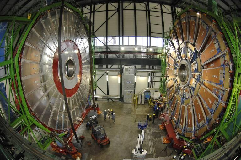 Cern (Centro Europeu de Pesquisas Nucleares), na Suíça, um dos principais centros de pesquisa da Europa