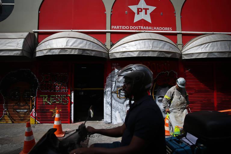 Diretório do PT, em São Paulo