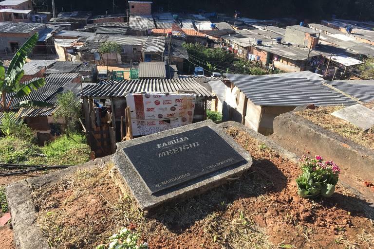 Cemitério vizinho