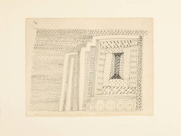 Obra 'Tapete', de Paul Klee
