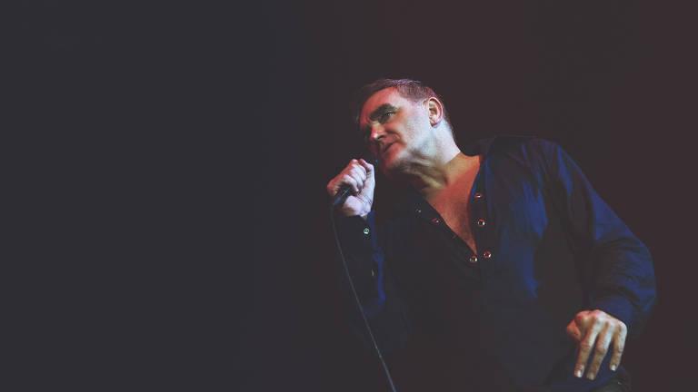 O cantor Morrissey
