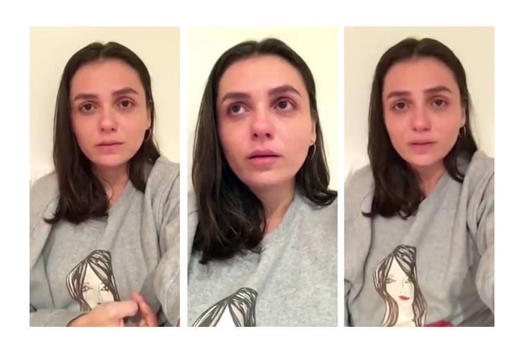 Atriz usou as redes sociais para desabafar sobre agressão do amigo por apoiador de Bolsonaro