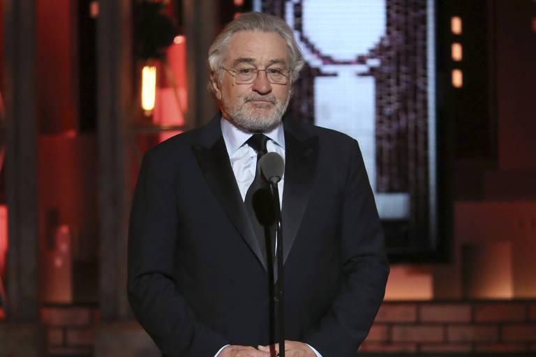 O ator Robert De Niro durante o Tony Awards, em New York
