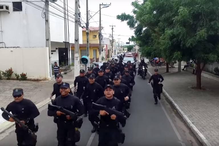 Comprova: Policiais militares do Ceará não entoaram gritos a favor de Bolsonaro