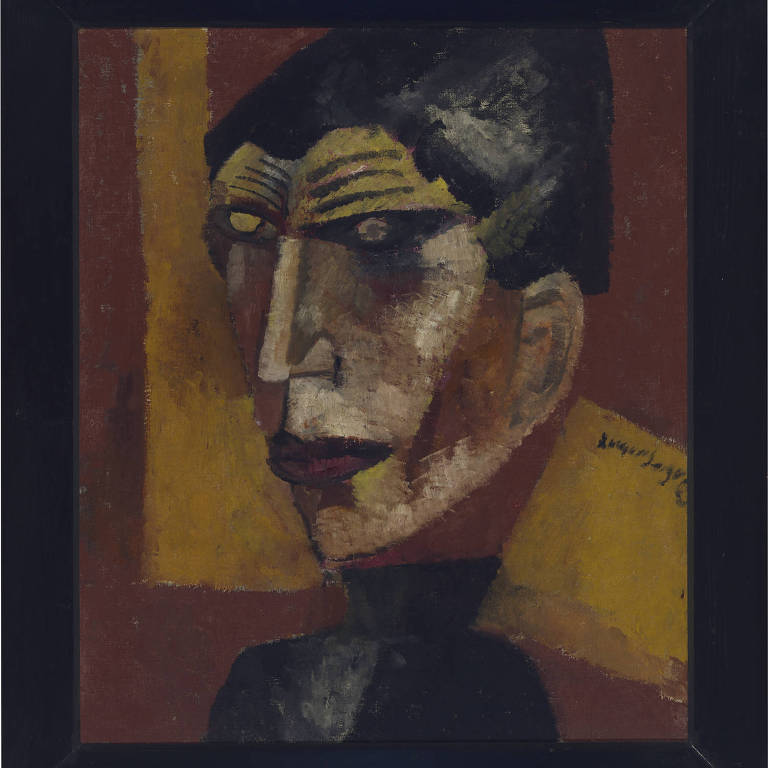 pintura em marrom