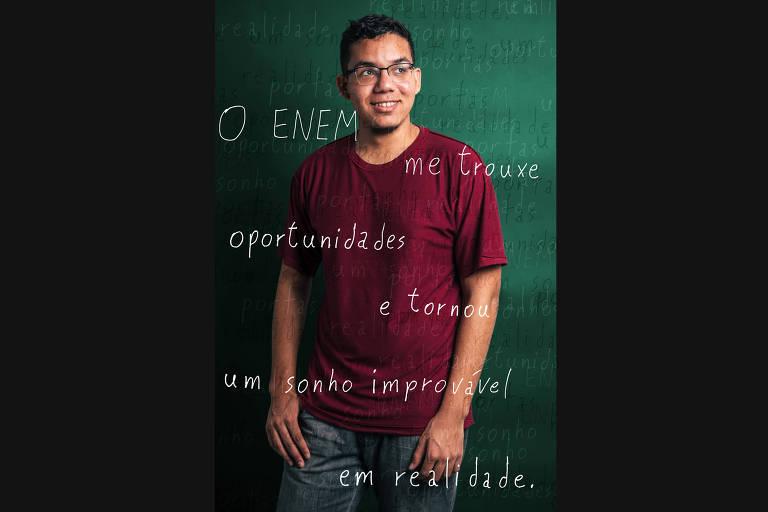 Veja seleção de participantes de sucesso no Enem