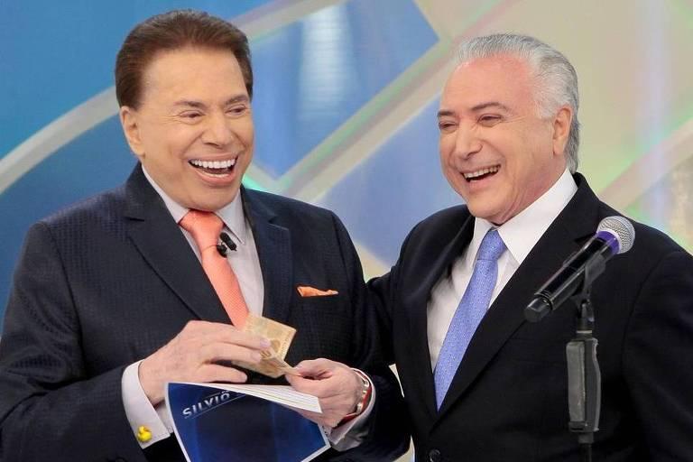 Silvio Santos 'finge demência' para driblar problemas, afirma autor