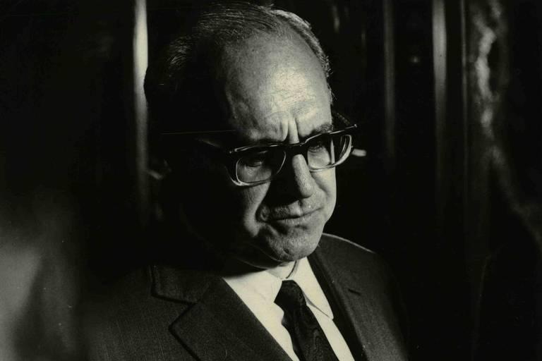 O ministro da Justiça Luís Antônio da Gama e Silva