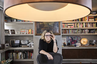 Entrevista com a jornalista Barbara Gancia em seu apartamento em SP