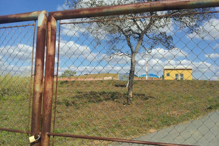 Região de aeródromo de Cláudio, em Minas Gerais, construído pelo governo estadual dentro de fazenda de familiares de Aécio Neves