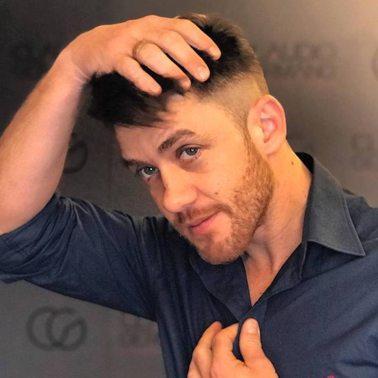 O ator Leonardo Miggiorin