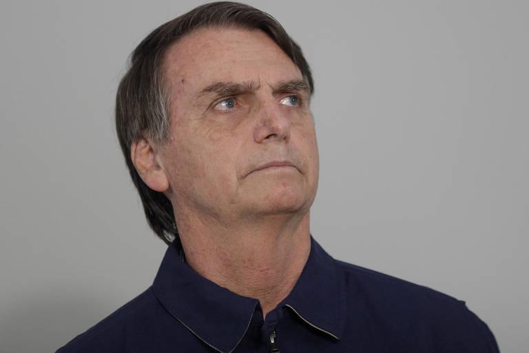 Jair Bolsonaro em foto de outubro, no Rio de Janeiro