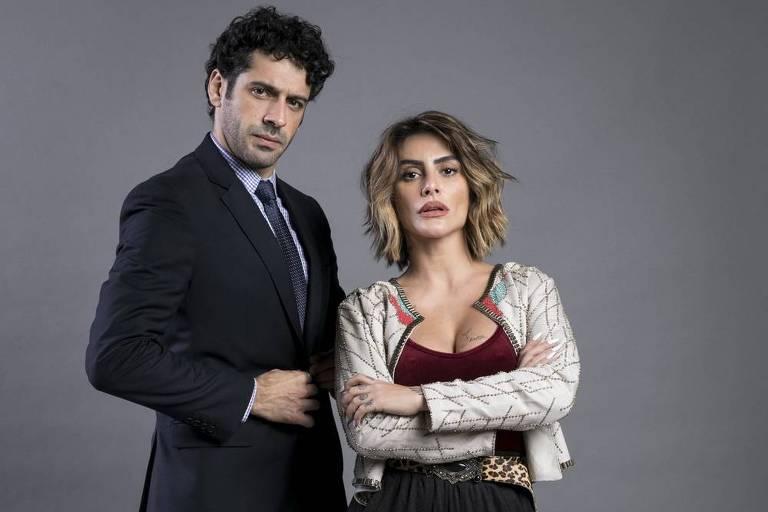 Betina e Emilio em O Tempo Não Para