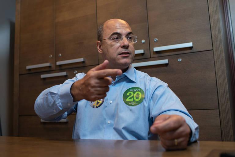 O candidato ao governo do Rio, Wilson Witzel (PSC)