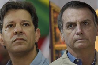 Fernando Haddad, Jair Bolsonaro