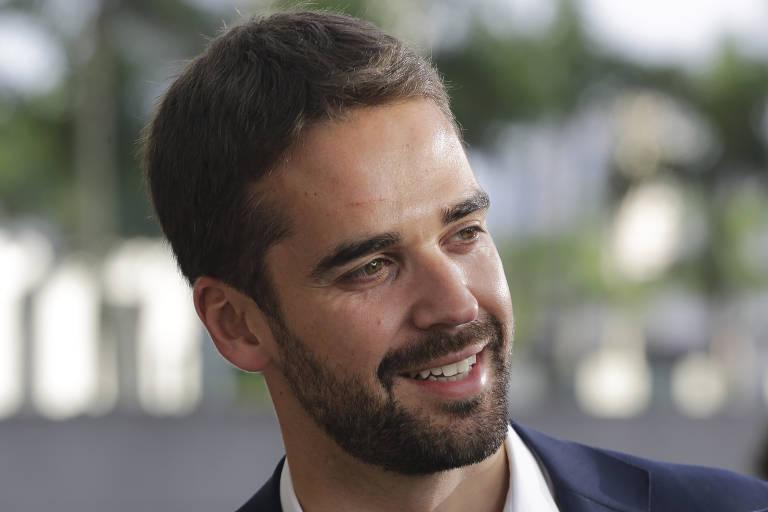 Eduardo Leite na campanha de 2018