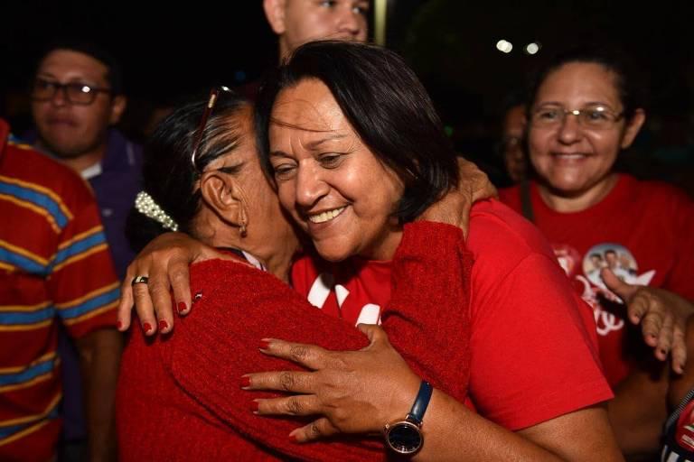 Resultado de imagem para Fátima Bezerra vence eleições e vai governar o RN