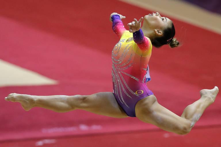 Equipe feminina brasileira vai à final do Mundial de ginástica artística